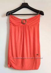 пляжно платье туника BUFFALO  персиковое  М