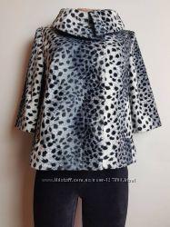 Красивое пальто с укороченными рукавами F&F Tesco М