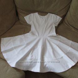 Белое платье можно для танцев