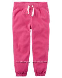 Флисовые штанишки для девочки carters размер 6