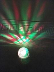 Светодиодная лампа -шар  для дискотеки
