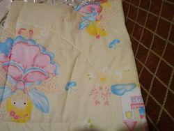 Одеяльце стеганое новое плюс подарок