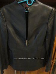 Кожаная куртка-пиджак  натуральный