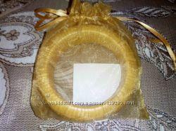 Браслет плетёный классный в подарочной упаковке новый, соломка
