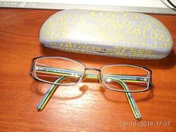 Lozza оригинал детские очки оправа металлическая в идеальном состоянии