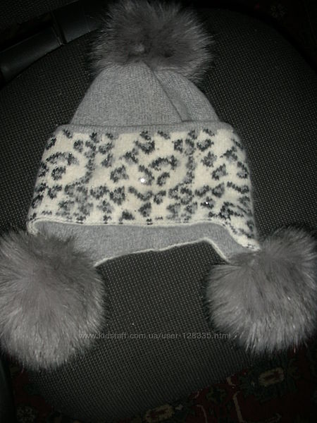Зимняя шапка из ангоры