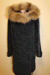 10 usa разм. Эксклюзив пальто от Max Mara. Мех чернобурка. Made in Italy Со
