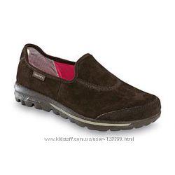 39 разм. 26 см. Фирменные кроссовки Skechers resalyte. Замша