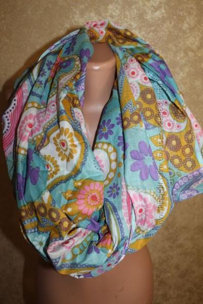 Очень большой и стильный шарф 180 х 112 см