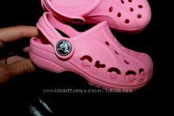 Стильные Crocs 6 C 7. Made in Italy
