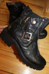 40 разм. Ботинки Nero Giardini Made in Italy. Кожа. Эксклюзив