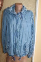 42 eur. Джинсовая куртка Keep away с капюшоном