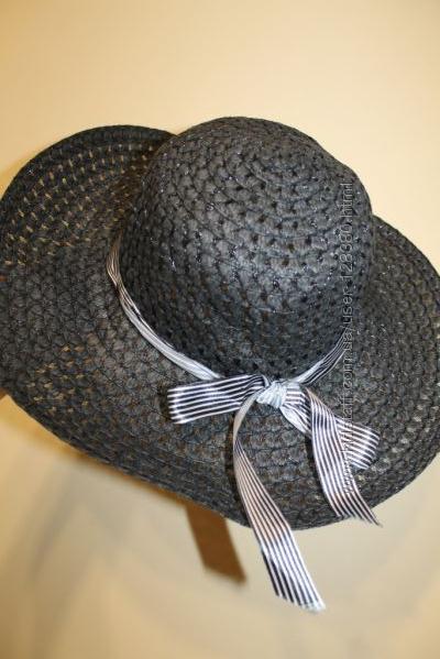 летняя шляпа с большими полями. очень красивая