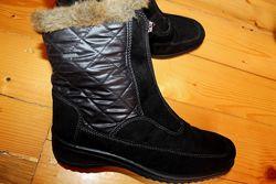 39 разм.  Ara Gore - Tex Зимние ботинки. Термо и не промокают