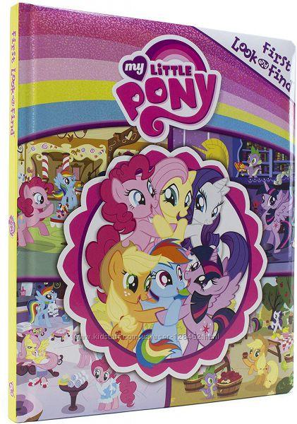 Книга игра My Little Pony&nbspшукач на английском языке.