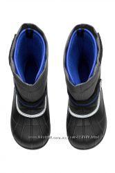 Теплые непромокаемые зимние сапоги H&M, UK-13, US-1, EUR-32