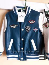 Куртка для мальчика PU-кожа