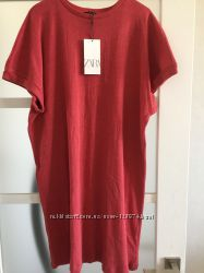 Трикотажно платье Zara модель oversize
