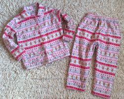 Рождественская байковая пижамка Matalan на 3-4 года