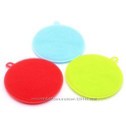 Щетка силиконовая для мытья посуды