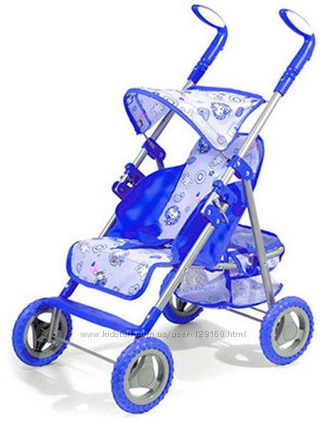 Прогулочная коляска для кукол Melogo.