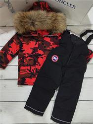 Детский зимний пуховый комплект CANADA GOOSE