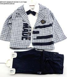 Детский костюм нарядный 1 3 года детские костюмы Турция нарядный