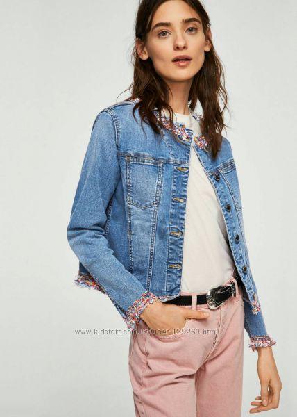 Mango  джинсовая куртка новая