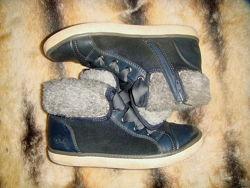 Clarks ботинки дев, 33 разм, 21см стелька
