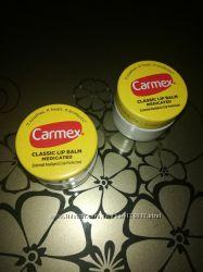 Carmex бальзам для губ в баночке классический , с лечебным действием