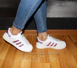 Подростковыеженские кроссовки Adidas Superstar