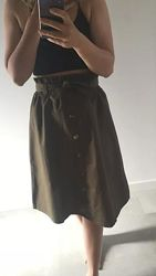 Стильная юбка с высокой талией