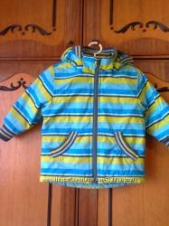 Теплая куртка FIXONI 74-80 р. на мальчика 1-2 года.