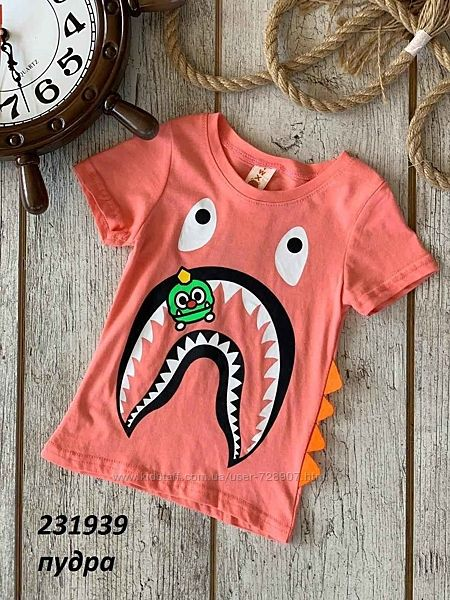 Крутейшие футболочки для ваших маленьких модников Яркие футболки, 1-6 лет