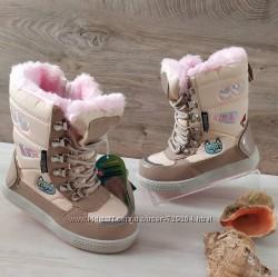 Зимние сапоги для девочки термо