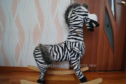 Качалка зебра