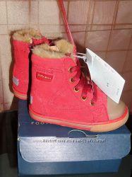 17 19  Замшевые зимние ботиночки Zara на подарок