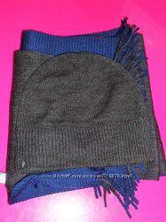 Модный бельгийский набор шапка и шарф