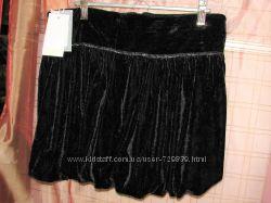 16 Бархатная  итальянская юбка - тюльпан Gatti