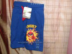 110 Супер модные хлопковые шорты Angry Birds