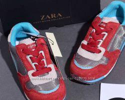 19 - 22 Шикарные замшевые кроссовки ZARA люкс