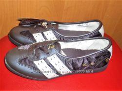 36 Кожаные туфельки Dance Point