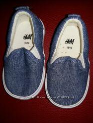 18 - 21 Модные джинсовые мокасины H&M