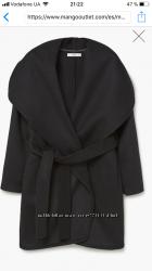 Новое женское пальто MANGO, размер M