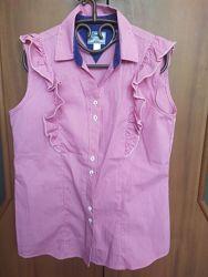 Рубашка на девочку, в состоянии новой, рост 146-152