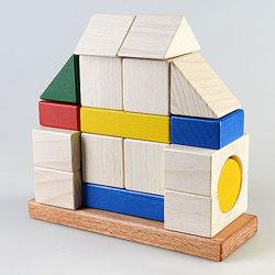 Деревянный конструктор пирамидка Усадьба КС-005, ТАТО. В наличии.