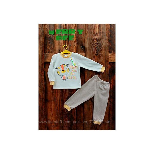Пижама Tiger с начесом-скидки