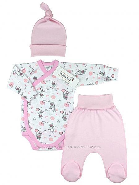 Комплект для новорожденной девочки Little Bunny