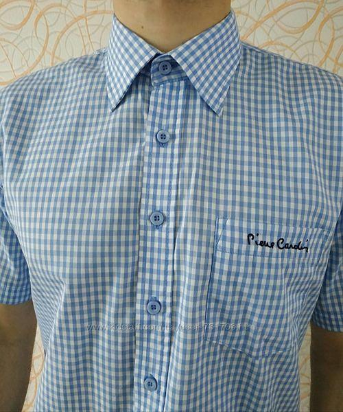 Фирменная мужская рубашка Пьер Кардин Pierre Cardin Originals оригинал