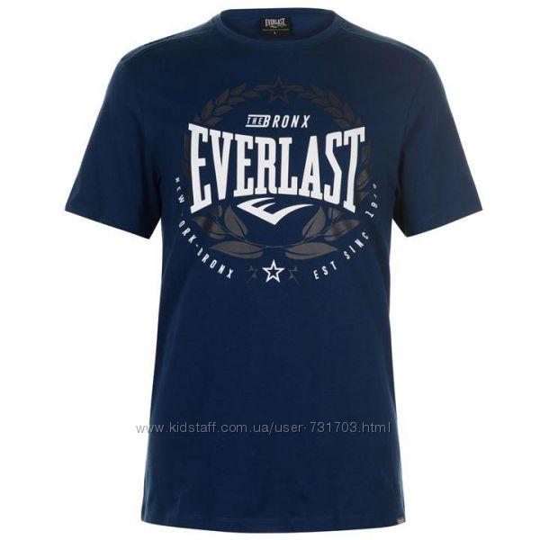 Фирменные мужские футболки еверласт Everlast футболка новая оригинал